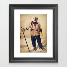 Polar Explorer Framed Art Print