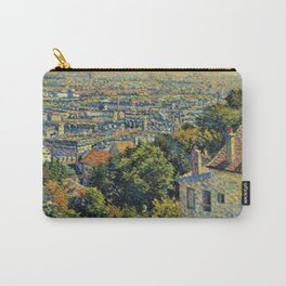 Hill of Montmartre overlooking Paris by Maximilian Luce Carry-All Pouch