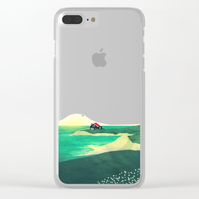 House by the Sea Clear iPhone Case