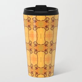 Ebola Tapestry-1 by Alhan Irwin Travel Mug