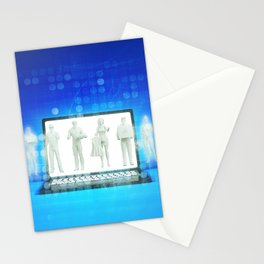 Online Shopping Concept for Products and Services Stationery Cards