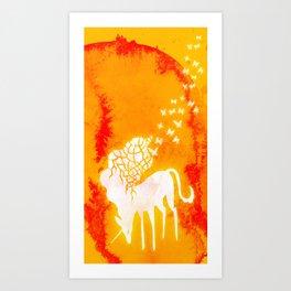 Flight of the Unicorn Art Print
