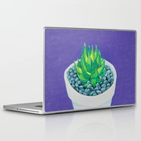 succulent Laptop & iPad Skins featuring Succulent by marlene holdsworth