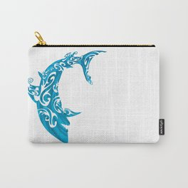 Shark Dive Watercolor Save A Shark Carry-All Pouch