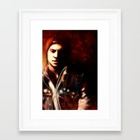 infamous Framed Art Prints featuring InFAMOUS: Second Son by Kate Dunn