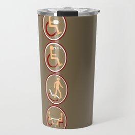 4 DISABILITY Travel Mug