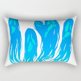 Your Ragged Ghosts Don't Haunt Me Anymore Rectangular Pillow