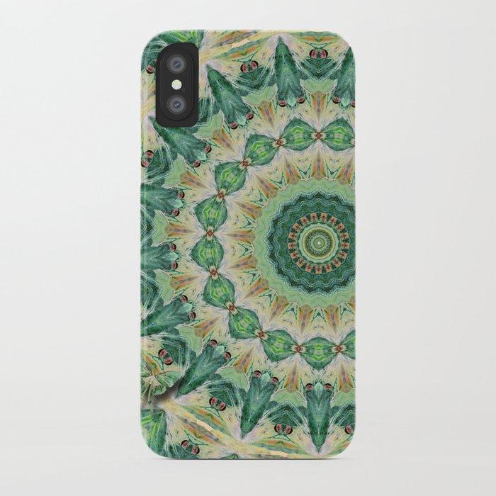 Luna Moth Kaleidoscope iPhone Case