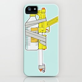 Child Friendly Flamethrower iPhone Case