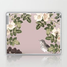 Birds and the Bees Pink Berry Laptop & iPad Skin