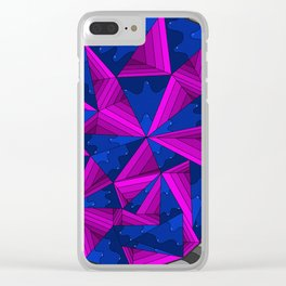 smell the colour 11 Clear iPhone Case
