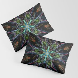 Electric Star Pillow Sham
