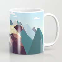 bear Mugs featuring Bear Mountain  by Davies Babies