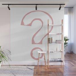 Minimalist ? Pink Wall Mural