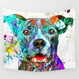 American Pit Bull Terrier Wall Tapestry