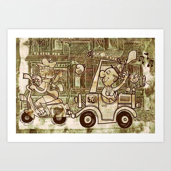 nice spot Art Print