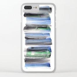 Frozen Summer Series 142 Clear iPhone Case