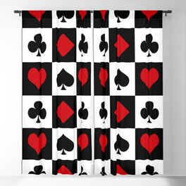 Playing card Blackout Curtain
