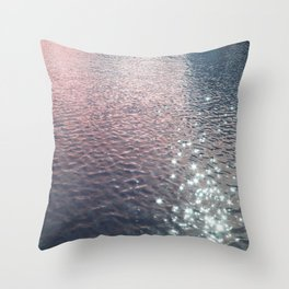 Stars in Water Throw Pillow