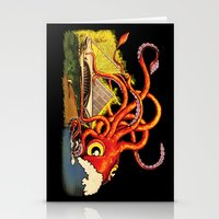 milwaukee Stationery Cards featuring MILWAUKEE: What's Kraken, Milwaukee? by Amanda Iglinski