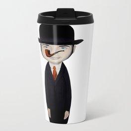 omaggio a Magritte Travel Mug