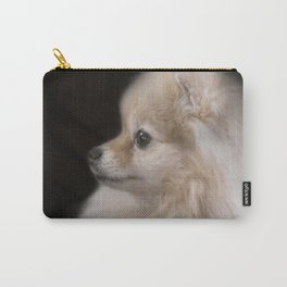 Willow The Pretty Pomeranian Puppy Carry-All Pouch