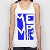 memphis Tank Tops featuring MEMPHIS by John Weeden