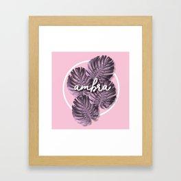 Ambra Framed Art Print