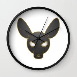Chibi Anubis Wall Clock