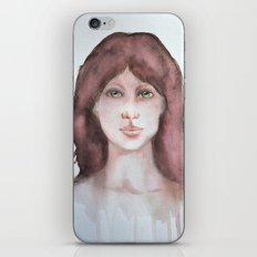 Watercolor smile iPhone & iPod Skin