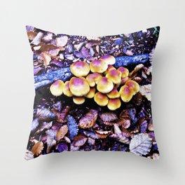 Fungi nature. Throw Pillow