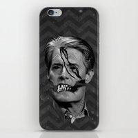 dale cooper iPhone & iPod Skins featuring COOPER SOUL by UNDEAD MISTER / MRCLV