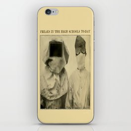 Freaks in the High Schools To-Day iPhone Skin