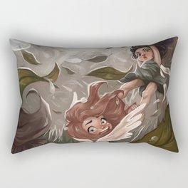 An Unlucky Day for Fairies Rectangular Pillow