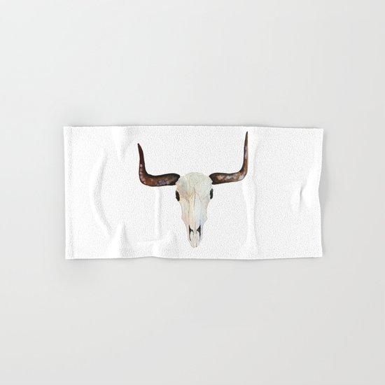 Animal Skull Hand & Bath Towel