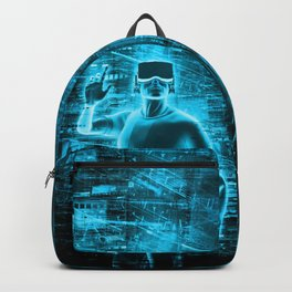 Virtual Reality User Backpack