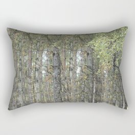 The Sound of the Trees Rectangular Pillow