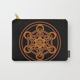 Metatron Red Gold Carry-All Pouch