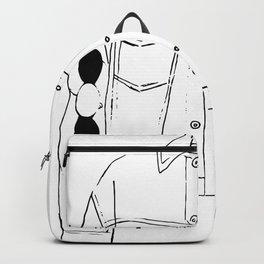 Jean Jacket Backpack