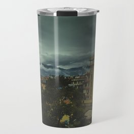 Kathmandu City Roof Top 002 Travel Mug