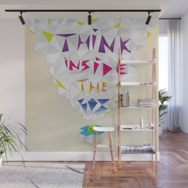Think inside the box Wall Mural