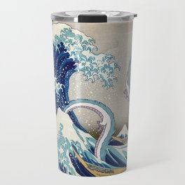 Haku and the Great Wave Travel Mug