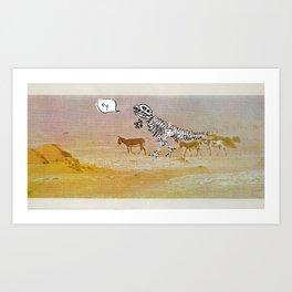 40 Years Art Print