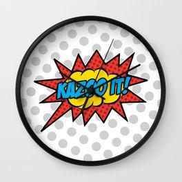 Kazoo It! Wall Clock