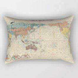 ANCIENT MAPS 1 CHINESE Rectangular Pillow