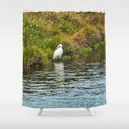 Huntress Shower Curtain