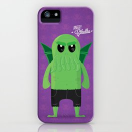 Angry Cthulhu iPhone Case