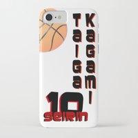 kuroko iPhone & iPod Cases featuring Kagami taiga by Selis Starlight