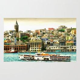 Istanbul city Rug