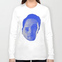 chad wys Long Sleeve T-shirts featuring Bad Chad Head by Blake Makes Tees